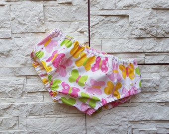 On SALE * woven cotton diaper Cover tg 6/12 months