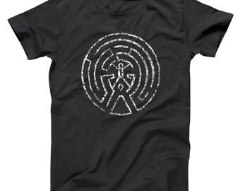 Secret Game Map Comic Westworld Gamer Soft Basic Men's T-Shirt DT1618