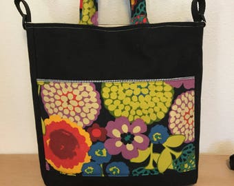 Riotous Flowers Shoulder and Handle Bag