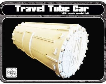 Space 1999 travel tube car 1:24 scale model kit prop replica