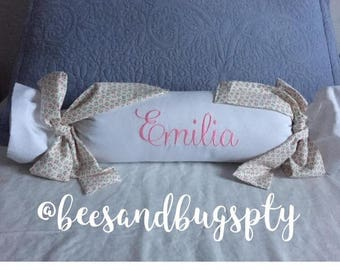 Pillow Camelo / Baby Pillow / embroidered, personalized, Pique, Baby Pillow, Baby Shower, baby cot