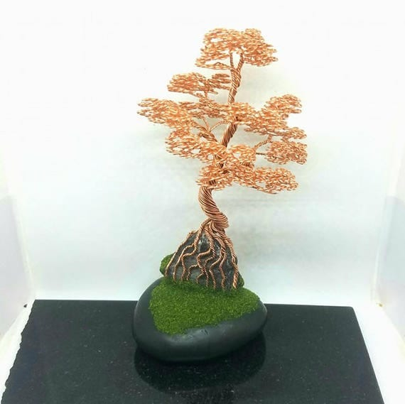 Tree of Life, Wire Wrapped, landscape Sculpture, Wire Tree Sculpture , Wire Bonsai Tree, Wire Tree, Wire Sculpture, Home Decor, Bonsai
