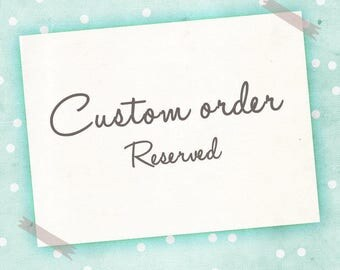 Custom poster size - RESERVED