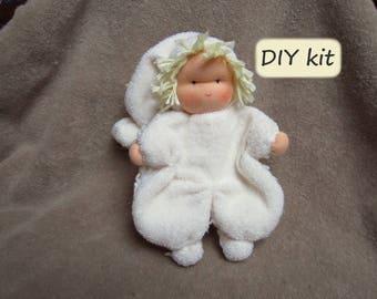 Diy kit loetje instructions with pattern pdf and do it yourself waldorf doll kit klaasje materials and instructions with pattern solutioingenieria Images
