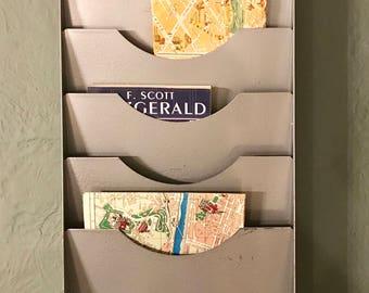 metal wall file organizer