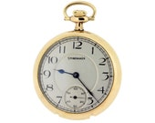Studebaker Pocket Watch 21 Jewel Movement by Southbend Watch Co