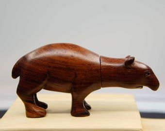 Wood Carved USB