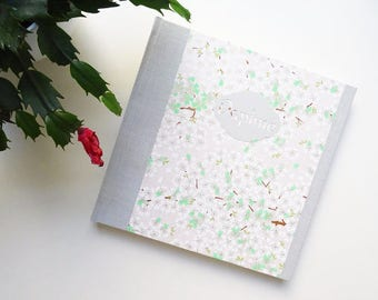 PHOTO ALBUM / / birth, baby personalized Japanese paper