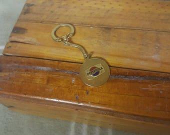 Vintage PEPSI Cola Keychain. Fob.