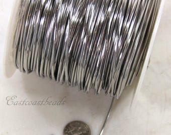 Aluminum Wire, 14 Gauge, 1/16 Inch Round, Dead Soft,High Quality Craft Wire, Jewelry Making Quality, Craft  Wire, Sold in 20 Ft. Length, 018
