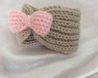 For baby knit headband