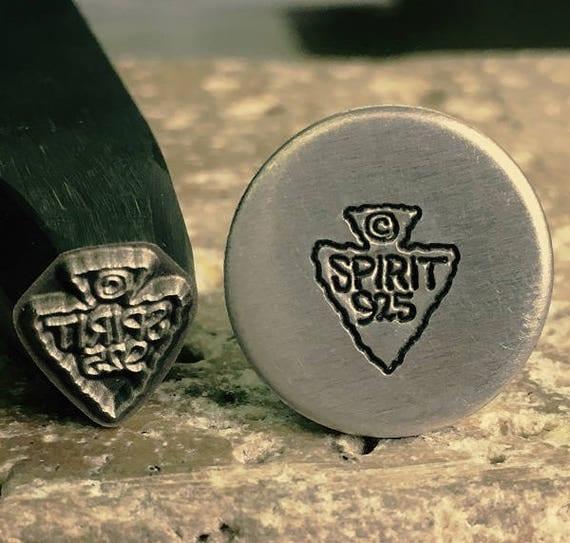custom logo jewelry stamp steel metal stamp custom design On custom jewelry logo stamps