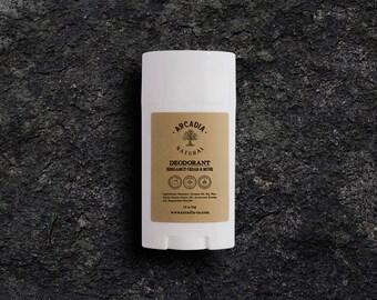 Natural deodorant for him, Handmade deodorant, Magnesium chloride, Aluminum free, Baking soda free, Deodorant stick with natural ingredients