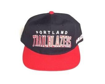 90s STARTER Portland Trailblazers Snapback hat blazers Snap back Strapback hat One Size Adult Unisex 100% WOOL