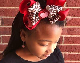 Valentine's Day Over The Top headband