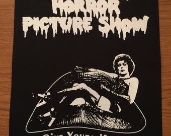 Rocky Horror Picture Show Cloth Back Patch