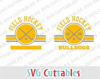 Field Hockey svg, field hockey cut file, field hockey template svg, dxf, eps, Silhouette file, Cricut cut file, digital download