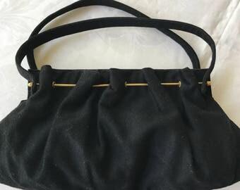 Terner's 50s black handbag