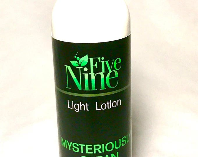Hand and Body Lotion - Moisturising Lotion - Dry Skin Lotion - Mysteriously Clean