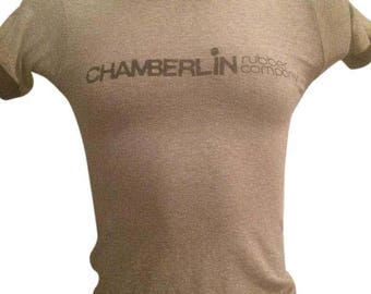 Sculpted VTG 70's Tee, Chamberlin Rubber Co...Women's Small & Men's XX-Small