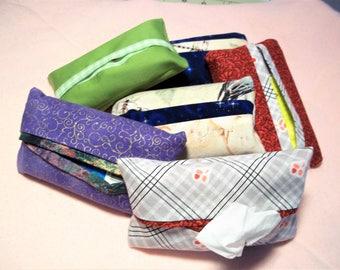 Tissue Pack Covers-Pocket Tissue Holders