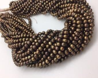 Dark Olive Potato Pearls