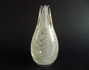 HARRTIL - vase - Rudolf SCHWEDLER - Harrachov - Czech / Bohemian Art Glass