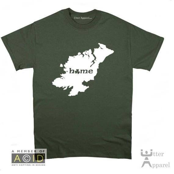 County Kerry Irish homeland t shirt, Ireland Counties, funny Irish t shirt Christmas birthday gift  Ireland Sizes S-2XL More colors.