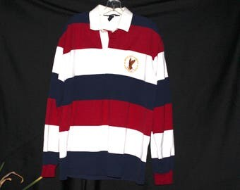 Land's End rugby T / size- medium