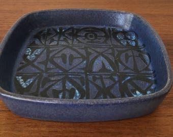 Danish Modern, Dish, Royal Copenhagen, Nils Thorsson Dish 704/2883, Nils Thorsson Royal Copenhagen, Baca, Aluminia