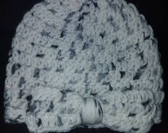 Crocheted Infant Hat! Ready to ship!