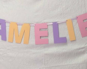 Letter Banners