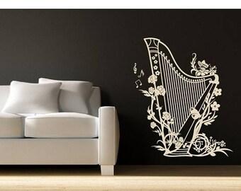 Music Wall Decal Etsy AU - Custom vinyl wall decals falling off