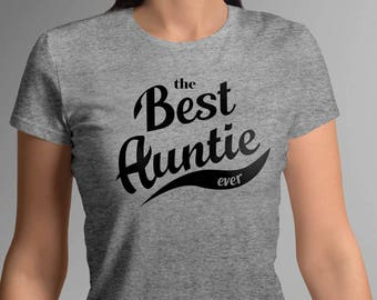 best auntie ever shirt, auntie shirt, aunt to be, Baby Newborn, New Aunt Gift, pregnancy announcement, personalized tshirt