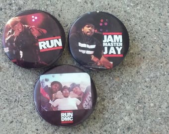 Original RUN DMC Pin set