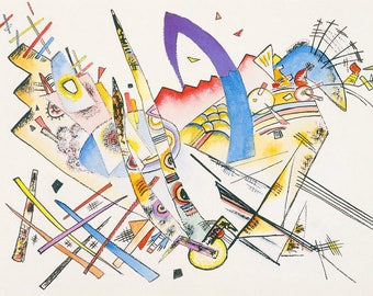 "Placemat laminated Kandinsky ""Sans titre"""