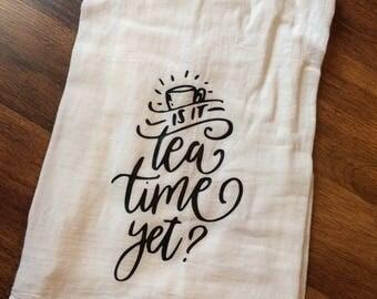 Tea Time Tea Towel