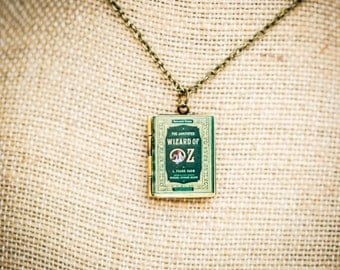 The Wizard of Oz Book Locket