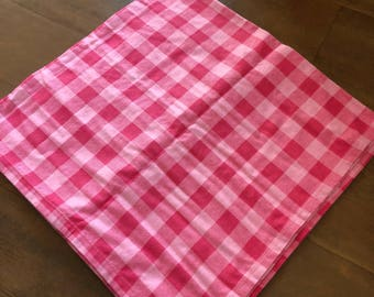 Checked Plaid Baby Swaddle Blanket *READY TO SHIP*