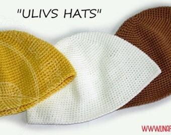 Crochet Pattern Hat, schema italiano, tutorial papalina unisex,schema papalina uomo,uncinetto,semplice tutorial come realizzare una papalina