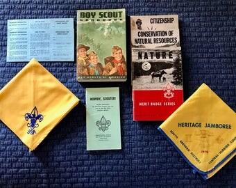 BSA - Boy Scouts of America Vintage 1960's Memorabilia
