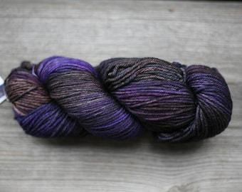 Malabrigo RIOS yarn Merino wool yarn Worsted merino wool Super Soft and Washable merino wool Hand dyed yarn Rios #066 Lavanda