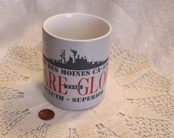"""Vintage """"USS DES Moines"""" Mug Navy Mug, CA-134, Decommissioned August 1993"""