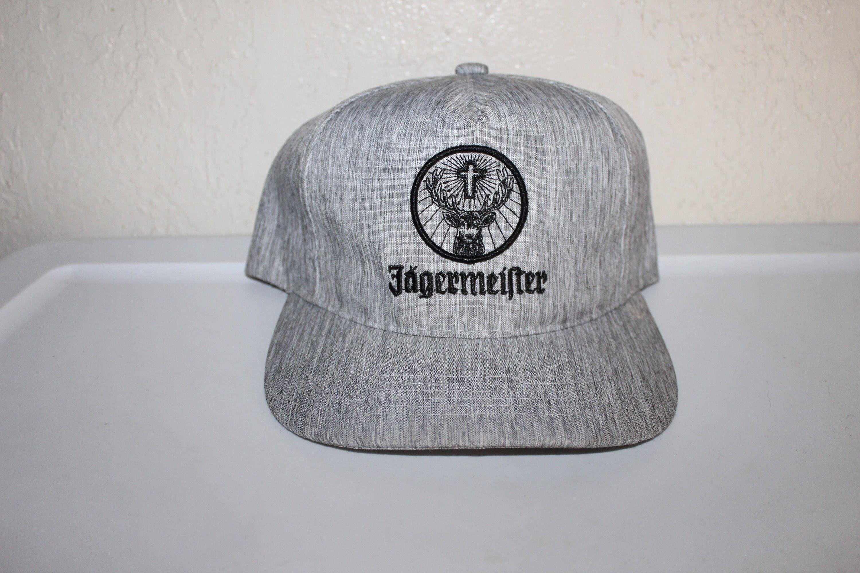Vintage 90\'s Jaegermeister Snapback Hat [E1019094703498881M ...