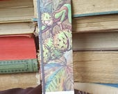Flower Fairies - Horse Chestnut - Book Page and Ribbon Bookmark