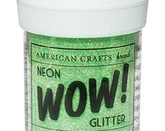 Glitter glitter WOW NEON - color GRASS