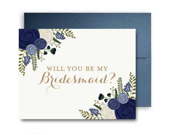 Bridesmaid Cards, Will You Be My Bridesmaid Card, Ask Bridesmaid, Bridesmaid Maid of Honor Gift, Matron of Honor, Flower Girl #CL132