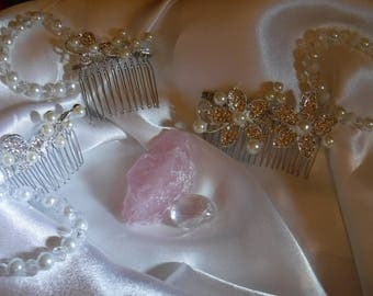 bride and bridemaids jewellery