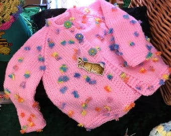 Baby girls cardigan - 6/9 months