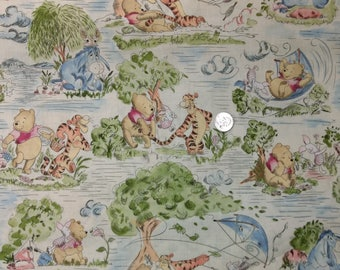 Classic Winnie the Pooh - Windy Day Fabric